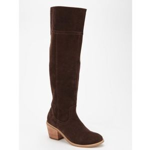 Urban Outfitters Shoes - Urban Outfitters | BDG Tall Brown Suede Ringo Boot